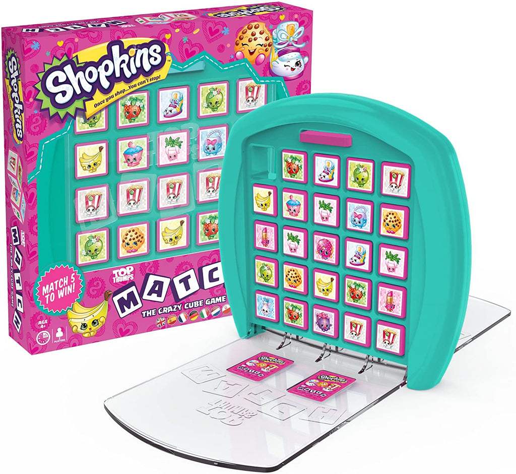 Shopkins Match Game