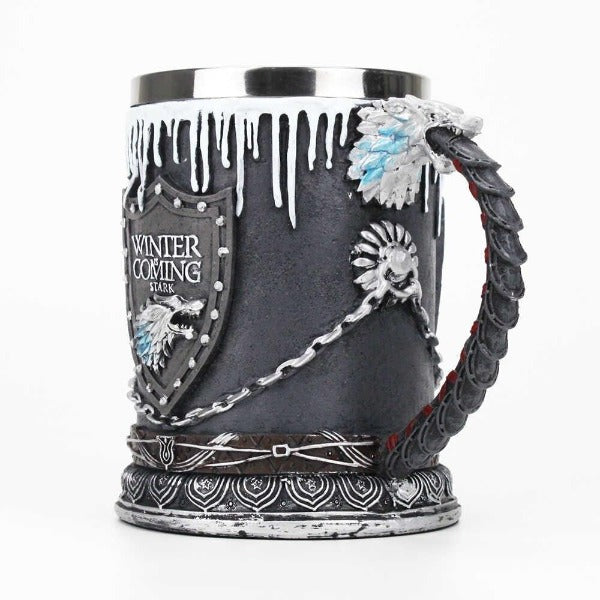 Game of Thrones - House Stark Tankard 16cm (GOT) Colour Box