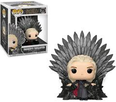 Game of Thrones - POP Deluxe: GOT S10 - Daenerys Sitting on Throne # 75