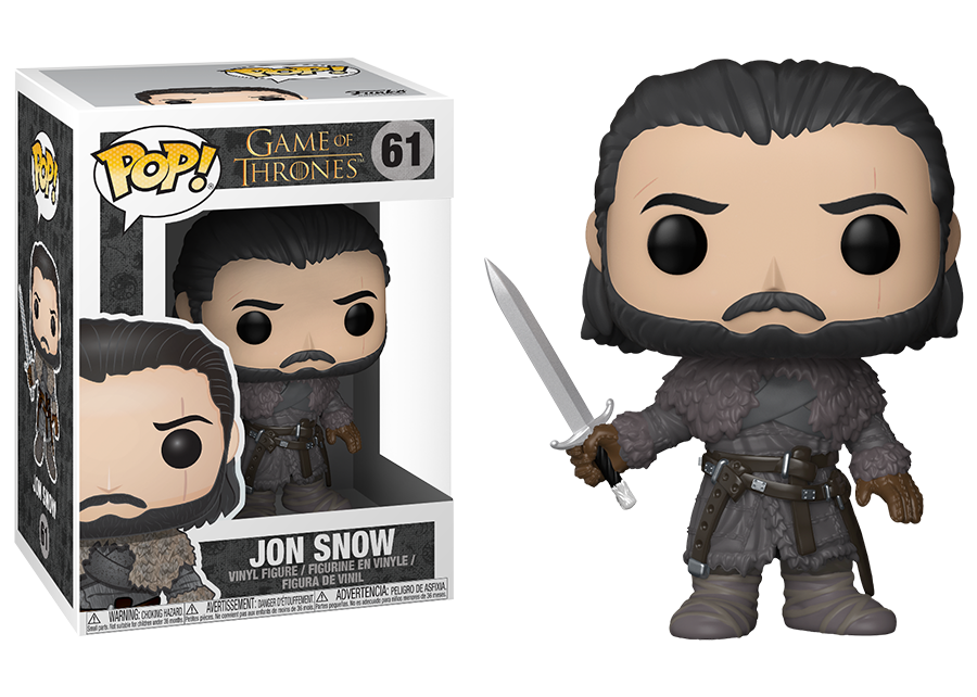 Game of Thrones - POP! Vinyl Jon Snow # 61 Beyond the Wall