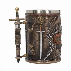 Iron Throne Tankard (GOT) 14cm Colour Box