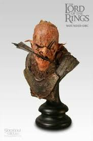 Lord of the Rings - Wounded Orc Bust
