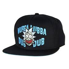 Rick and Morty Wubba snapback cap - kapa/šilterica