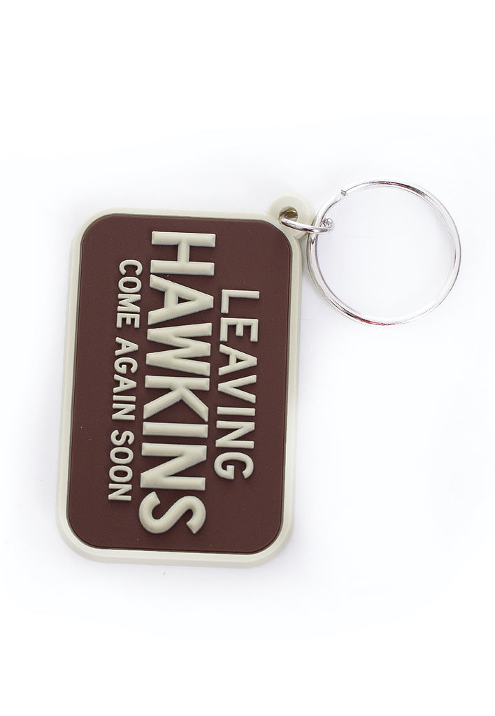 Stranger Things - (Leaving Hawkins) Rubber Keychain