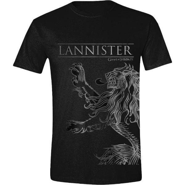 Game of Thrones - Lannister House Sigil Mens majica crna
