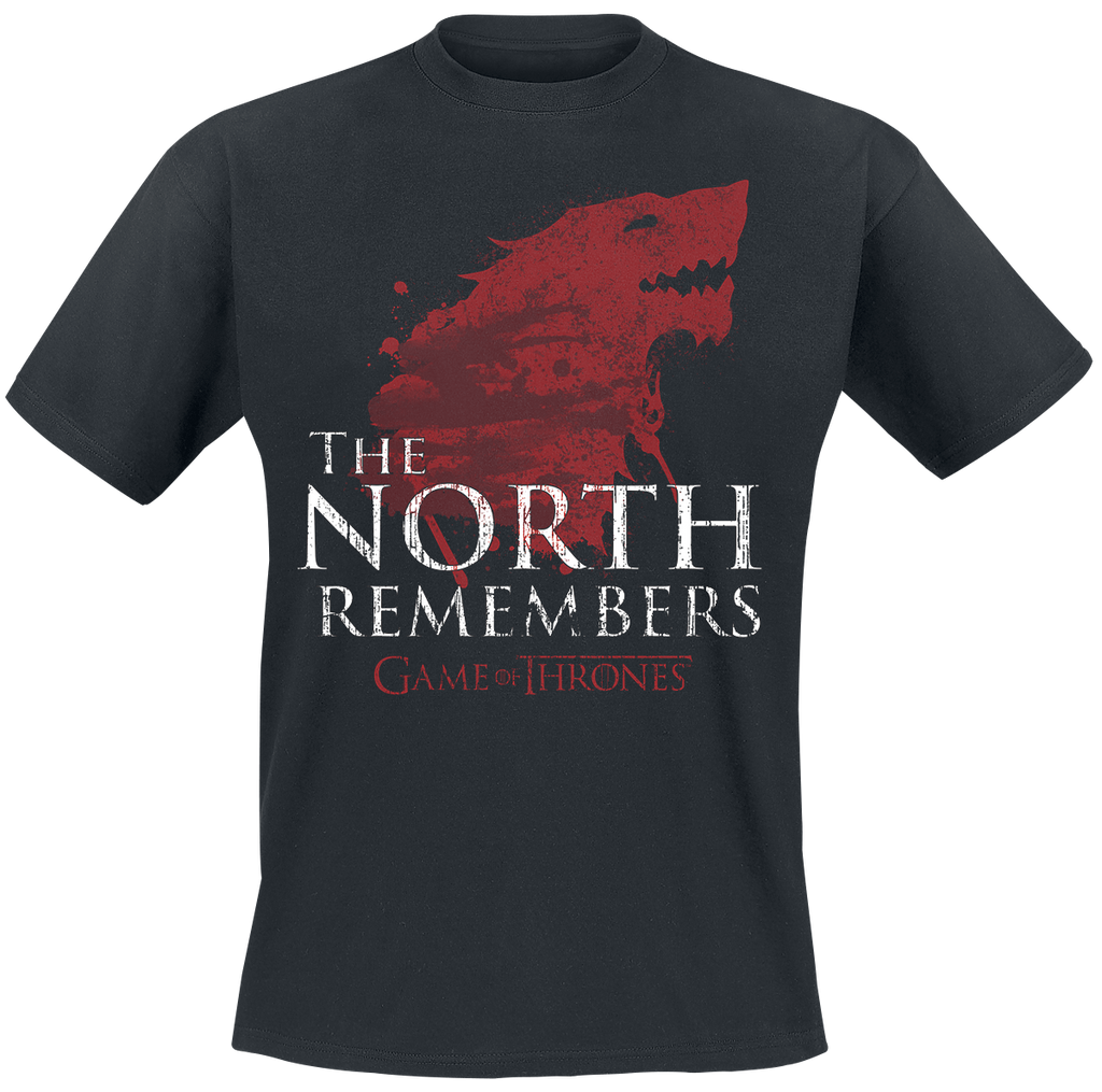 The North Remembers T-shirt, size: L