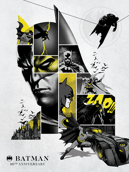 Batman (80th Anniversary) Poster