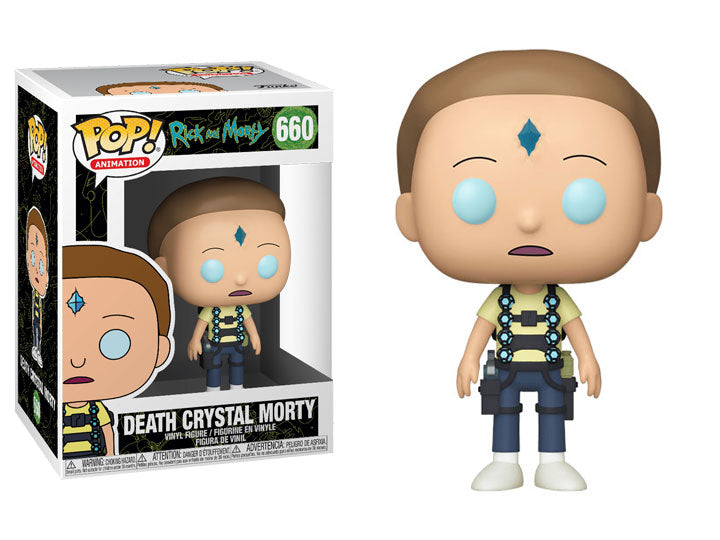 Rick & Morty - POP! Animation - Death Crystal Morty #660