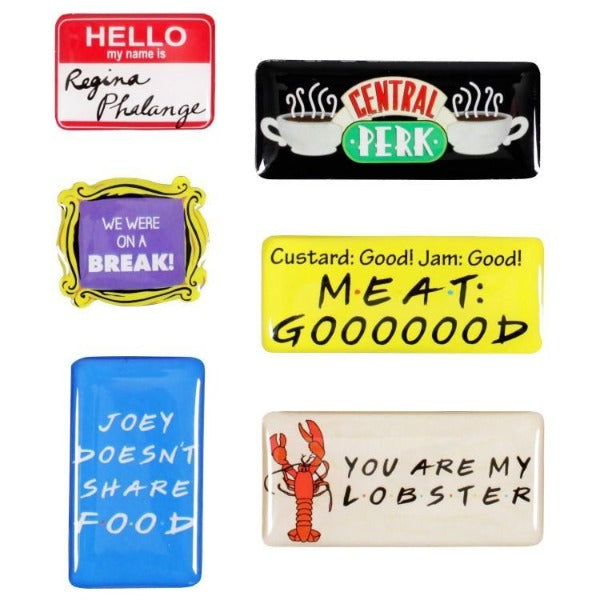 Friends  - Epoxy Magnet Set (Quotes)