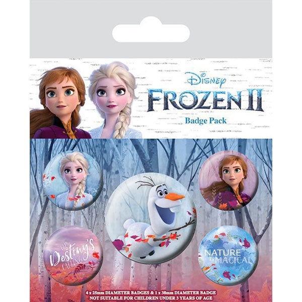 Frozen - Destiny Badge Pack