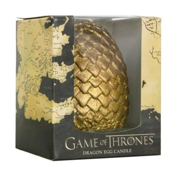 Game of Thrones - Dragon Egg Candle (Gold)
