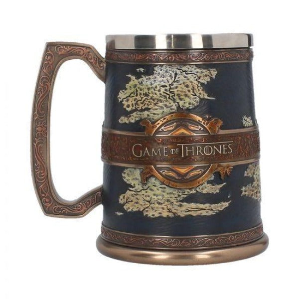 Game of Thrones - The Seven Kingdoms Tankard 14cm Colour Box