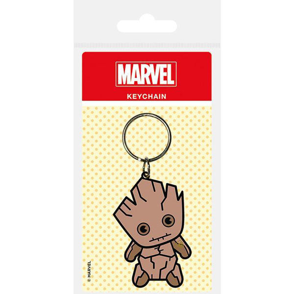 Marvel - Kawaii Groot gumeni privjesak za ključeve