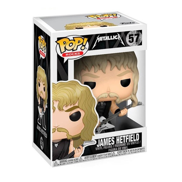 Funko POP! Vinyl: Rocks - Metallica - James Hetfield #57