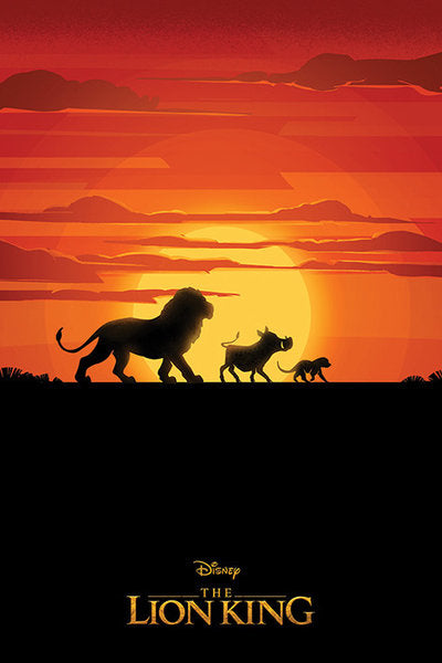 The Lion King Movie (Long Live The King) Poster