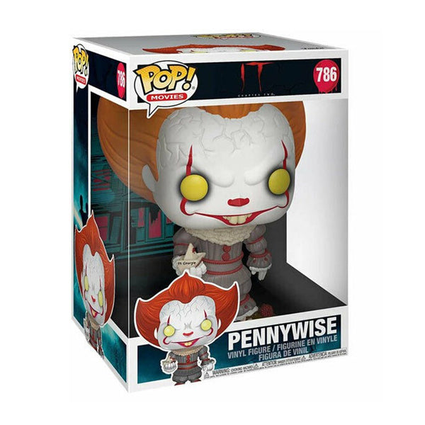"IT- Funko POP! Movies: Chapter 1- 10"" Pennywise w/ Boat #786"