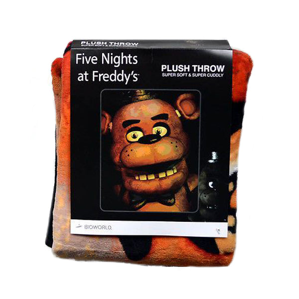 Five Nights at Freddy's - Plush Throw Blanket