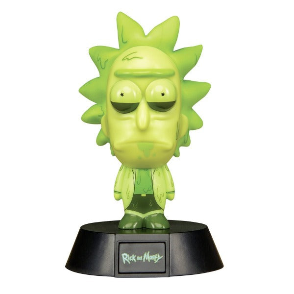 Rick and Morty - Toxic Rick Icon Light