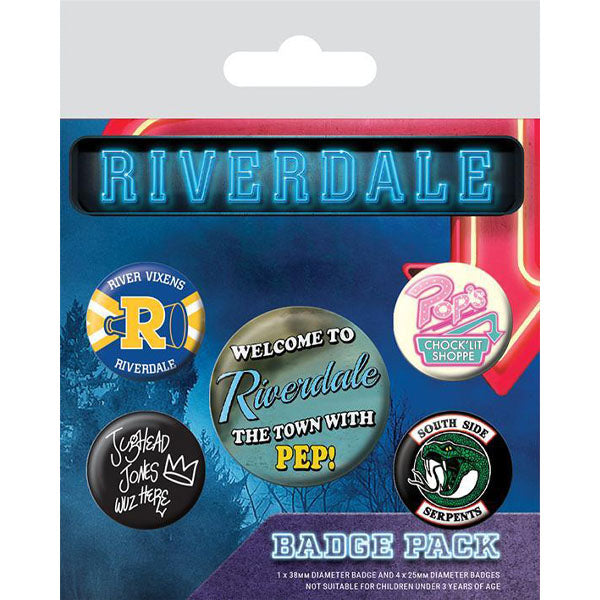 Riverdale - Icons set bedževa