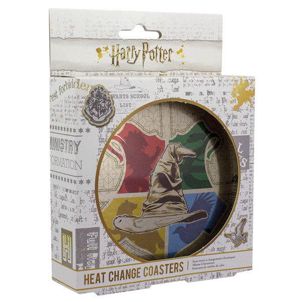 Harry Potter - Sorting Hat Heat Change Coasters