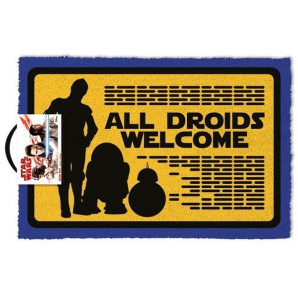 Star Wars - All Droids Welcome Otirač