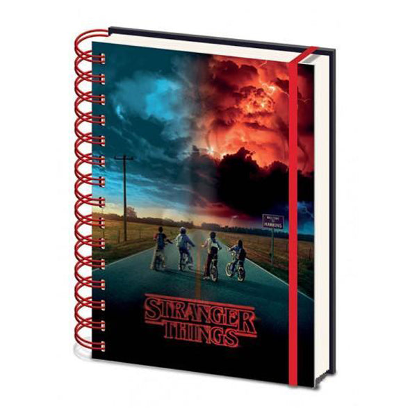 Stranger Things - Mind Flayer 3D Notebook
