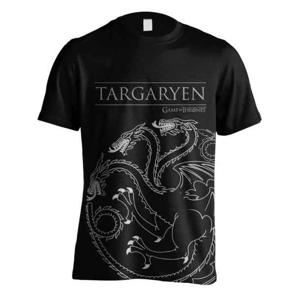 Game of Thrones - Targaryen House Outline Sigil majica
