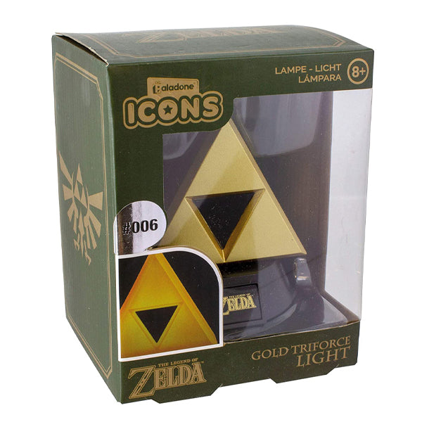 Zelda - Gold Triforce Icon svjetlo