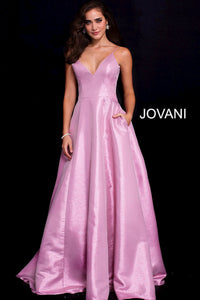Jovani Size 10 Pink Ball Gown