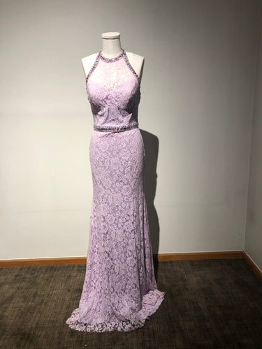 Lavender Blush Halter-top Dress Size 6