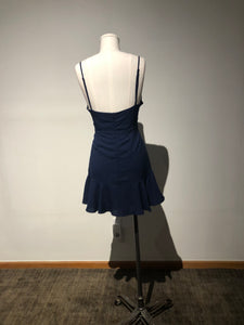 Olivaceous Size Large - Royal Blue Flirty Dress