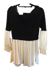 Black and White Tunic