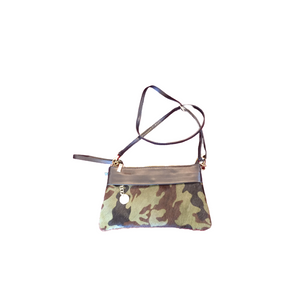 Camo Cross Body/ Wristlet