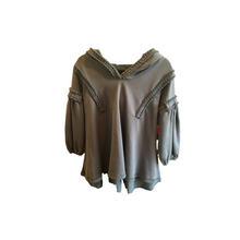 Load image into Gallery viewer, Grey Hooded Sweatshirt