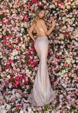 Load image into Gallery viewer, Clarissa Size 4 - Iridescent Blush 2 Piece Gown