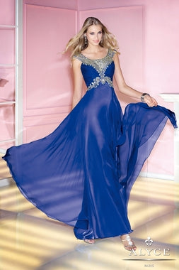 Royal Blue Alyce Dress Size 10