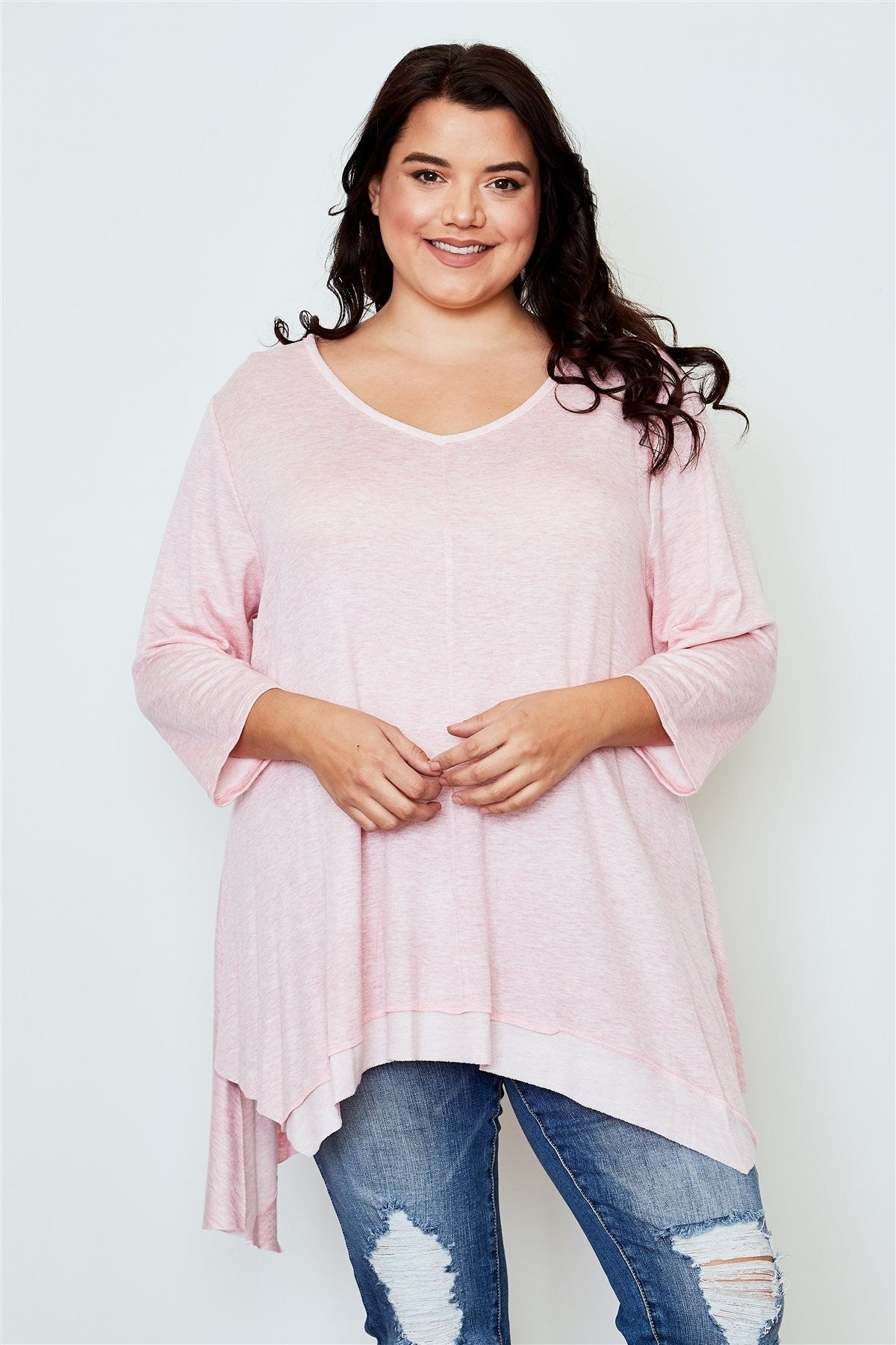 Plus Size Tunic Top