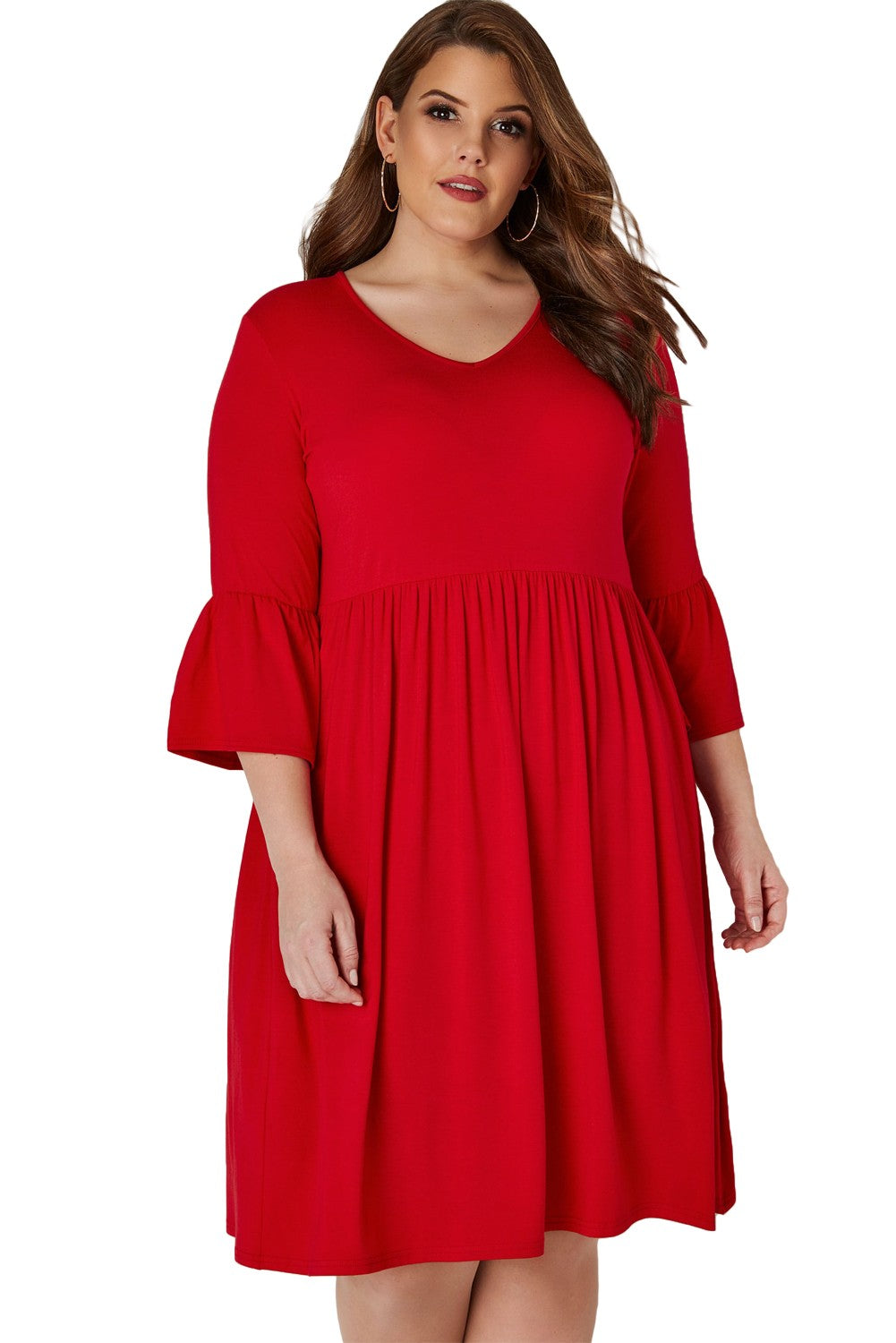 Women Plus Size Jersey Dress