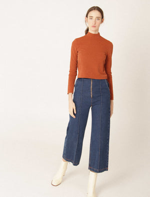 EMILIA denim trousers
