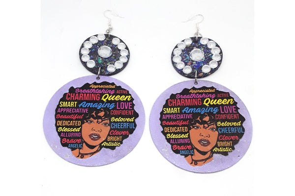 Facts of A Queen Earrings