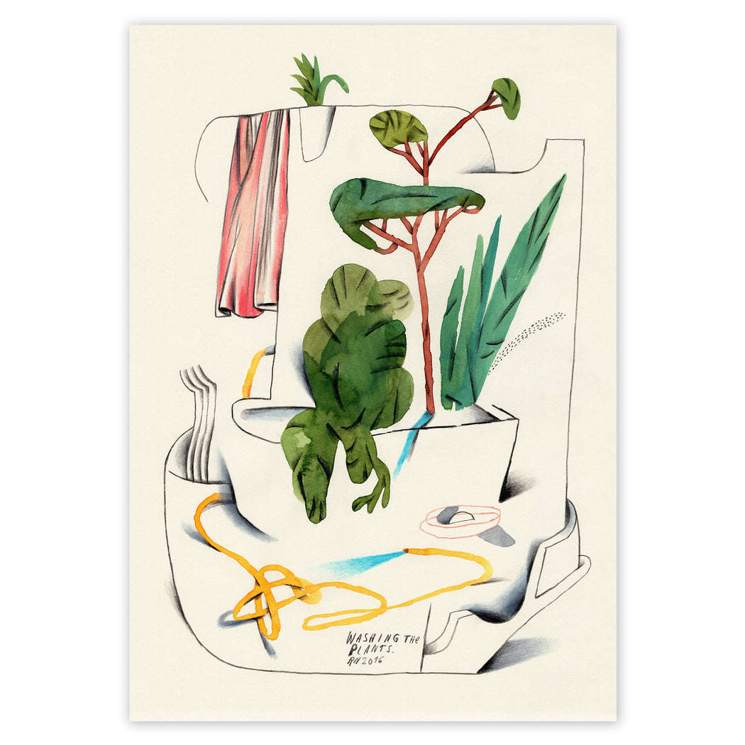 Washing The Plants - Ralf Nietmann