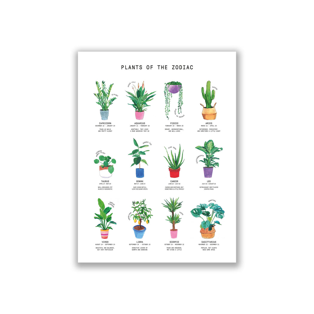 Plants Of The Zodiac - Silvie Bomhard