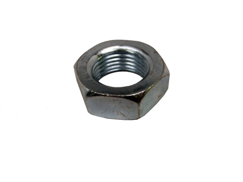 7/16-20 Left Hand Thread Hex Jam Nut Steel (  1 pc  )