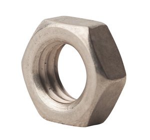 10-32 Hex Machine Screw Nut Left Hand Thread 18-8 Stainless ( pkg of 50 )