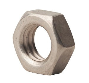 10-24 Machine Screw Nut Left Hand Thread Zinc plated steel (pkg of 10)