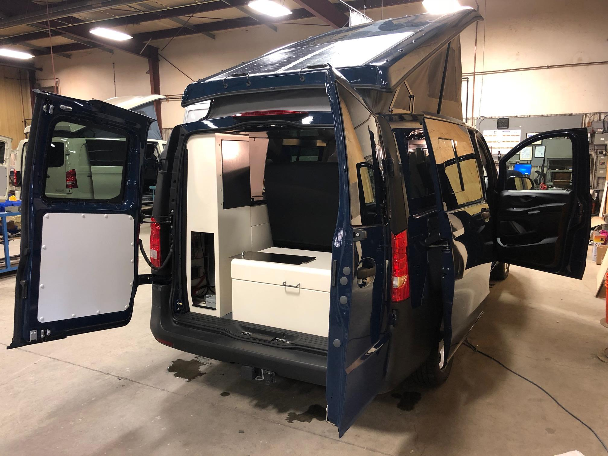 Mercedes Metris Jacques Cartier Westy Conversion