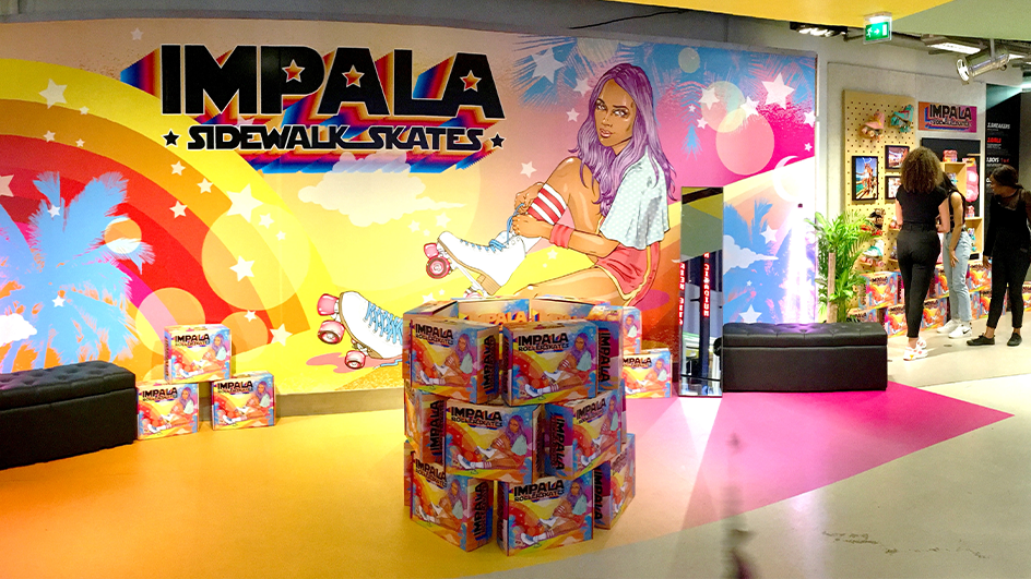 IMPALA Skates POP UP AT CITADIUM PARIS