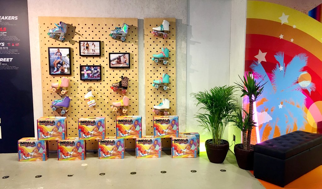 Impala Roller Skates_Paris_Product Category_Wall Display.