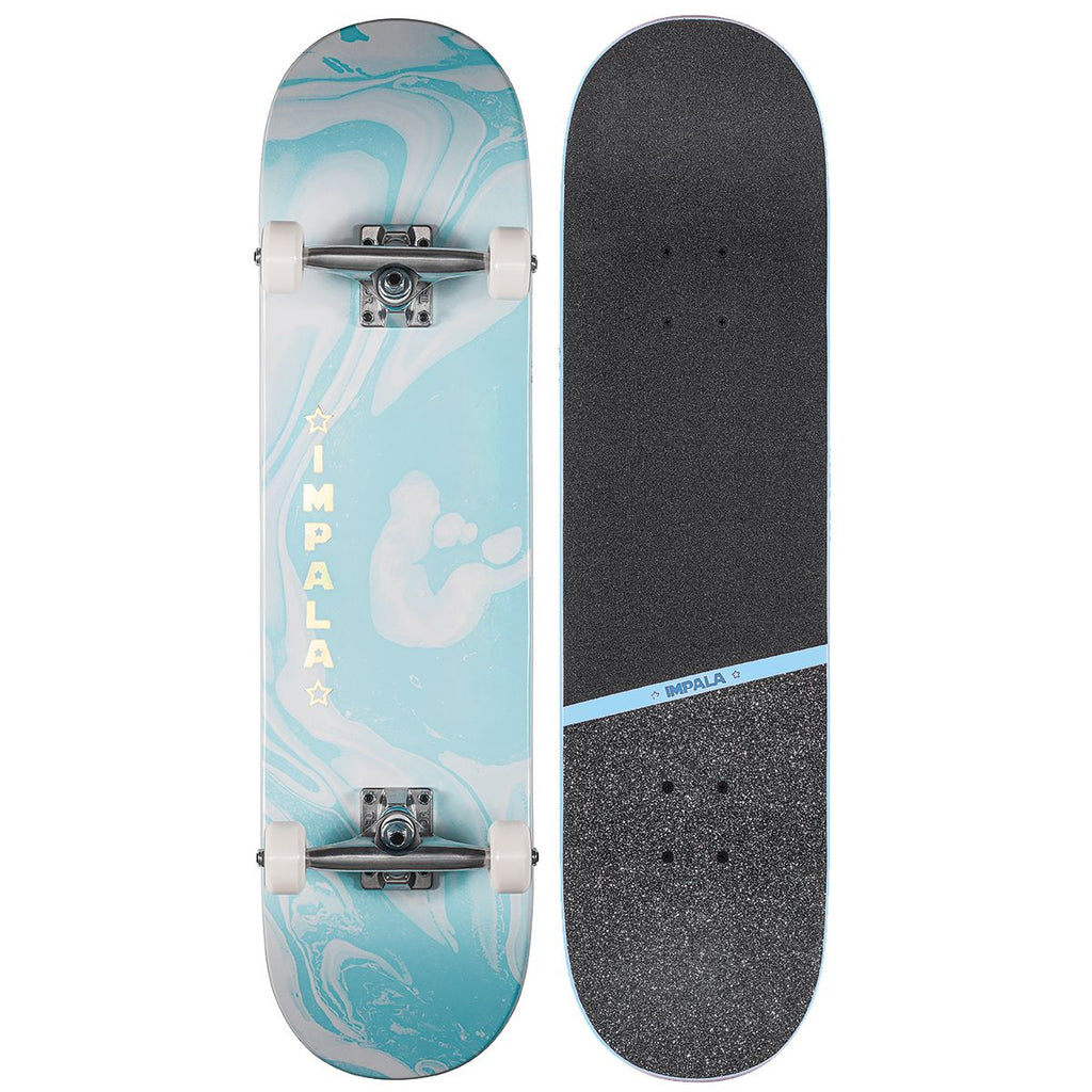 "Impala Cosmos 8.0"" Blue Complete Skateboard"