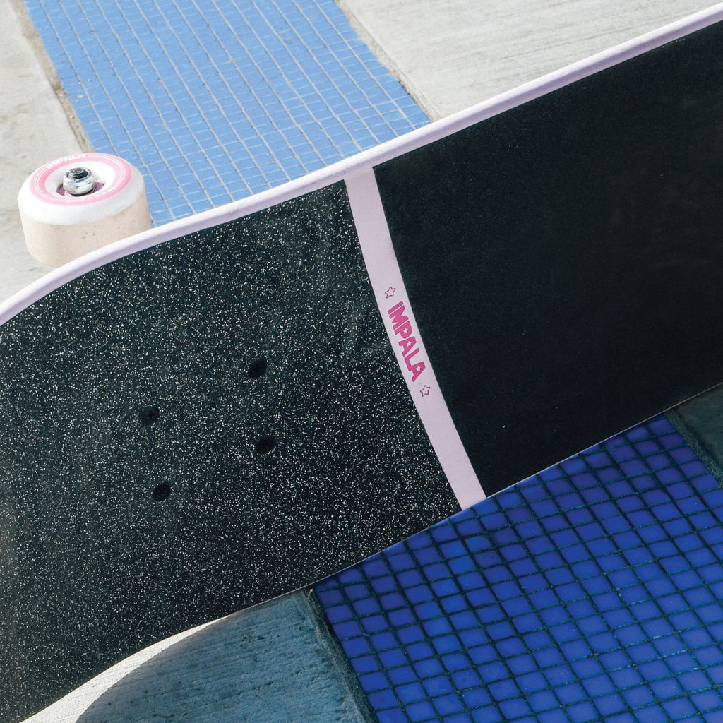 "Impala Cosmos 8.25"" Pink Complete Skateboard"